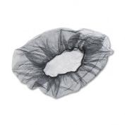 Honeycomb Hair Nets, Nylon, Black, 100/Pack