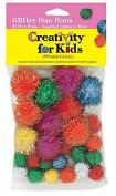 Pom Poms from Kids Craft - Glitter