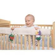 Leachco Easy Teether Crib Teething Rail Cover - Ivory