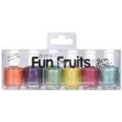 6 Scented Fingernail Polish Mini's Fun Fruits Great for Nail Art Too