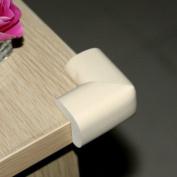 Ostart 8 Beige Baby Furniture Corner Safety Bumper Security Table Desk Corner Edge Protector Guard Cushion Softener
