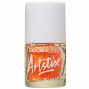 Models Own Artstix Nail Beads Neon Orange