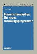 Organisationskultur [GER]