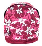 Aub917rro Gola Pink Floral / Flower Print School Rucksack