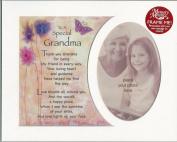 To A Special Grandma - Memory Photo Mount