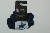 NFL Dallas Cowboys Team Colour Hair Scrunchie Ponytail Holder