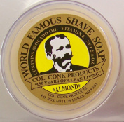 Col. Conk Almond Glycerine Shave Soap