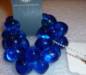 Tri Coastal Design Bracelet Blue Crystal Sacks Fifth Ave