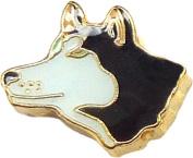 Husky Floating Locket Charm