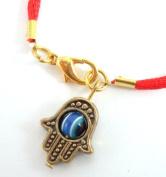 Hamsa Hand Kabbalah Red Thread String Bracelet Evil Eye