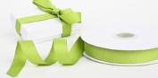 1.6cm Wide Kiwi Tropical Green Grosgrain Ribbon - 25 Yards Roll