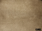 "150cm MICRO SUEDE FABRIC ""CAMEL"" FOR UPHOLSTERY (PASSION SUEDE) BTY"