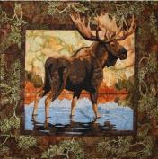 Hidden Lake Moose Toni Whitney Designs Applique Quilt Pattern