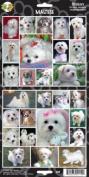 Pet Qwerks S28 Maltese Dog Sticker