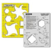 "Fiskars ""Memory Pockets"" Shape Template & Scoring Guide"