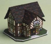 The Nutmeg Company The Castle Inn 3D Cross Stitch Kit