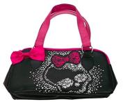 Official Monster High Girls Black Handbag Shoulder School Bag Back To School
