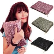 Dazzling Glitter Sparkling Bling Sequins Handbag Clutch Evening Party Bag