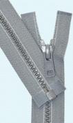 41cm Vislon Zipper ~ YKK #5 Moulded Plastic ~ Separating - 578 Medium Grey