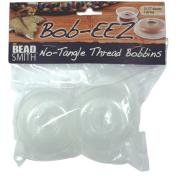 Beadsmith BOB3-R Bob-Eez No Tangle Thread Bobbins, 2.5-Inches, Pack of 8