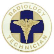 Radiology Technician Caduceus Medical Lapel Pin