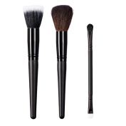 ON & OFF East Meets West Collection Stipple, Domed Powder and Duo Fluff/Conceal Brush Set