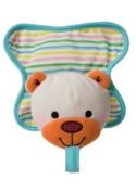 Infantino Binky Buddy Plush Pacifier Holder