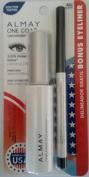 Almay One Coat Mascara Black 402 Bonus Eyeliner
