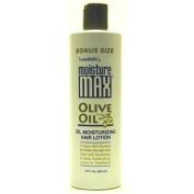 Lustrasilk Moisture Max 350ml Lotion Olive Oil Bonus #50127
