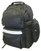K-Cliffs Polyester Backpack - 19 x 33cm x 20cm . Black