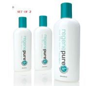 Regenepure DR Hair Loss Shampoo For Hair Loss, Scalp Treatment and Dandruff Relief in Men and Women - Set of 3