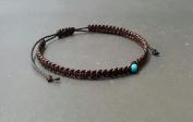 Handmade Friendship Single Turquoise Bracelet