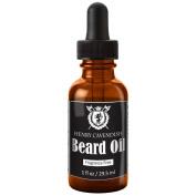 Henry Cavendish Beard Oil. Fragrance Free. With Organic Jojoba, Sunflower, Shea and Argon Oils
