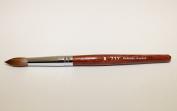 Professional 777 Kolinsky Acrylic Nail Brush Round Size # 20 - Buy 2 get 1 FREE Airbrush Stencil