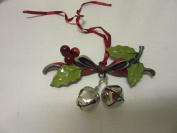 Longaberger Holiday Christmas Bells Basket Tie on