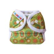 Bummis Duo-Brite AI2 Nappy Wrap, Green, Size 2