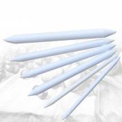 Slaxry Art Paper Tortillon Blending Stump for Art Sketch Pastel Drawing Tool 6 Sizes Pack of 6