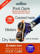 Sierra Sage Organics 100% All Natural Foot Care Stick