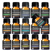TOP 16 Essential oil Aromatherapy set 100% Pure Undiluted Therapeutic Grade