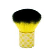 LONDON SOHO NEW YORK Disney Collection Enchanted Beauty Kabuki Brush, Belle Yellow