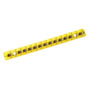 Breaker Lockout, Rail, 20cm , 15 Holes,