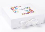 1st Birthday Keepsake Box, Little Birds Box, First Birthday Box, Memory Box, 1st Birthday Gifts.