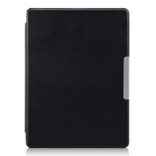 Fullkang Magnetic Auto Sleep Leather Cover Case For KOBO AURA H2O eReader + Touch Pen + screen protective film