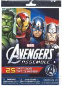 Marvel Avengers Assemble 25 Temporary Tattoos