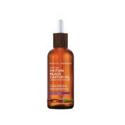 Haitian Black Castor Oil, Lavender Hibiscus - 100% Pure & Unrefined (Lwil Maskriti/Palma Christi)